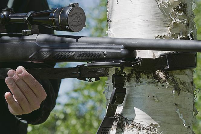 3HGR ampumatuen kiinnitys