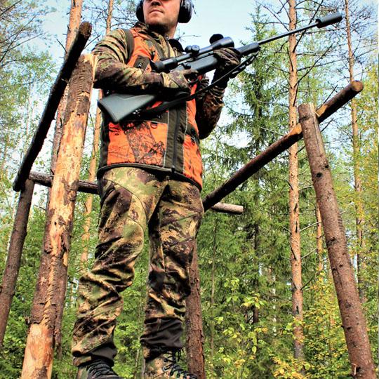 3HGR Takedown -lisäominaisuus helpottaa aseen käytettävyyttä erityisesti hirvitornissa tai kyttäyskopissa.